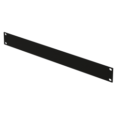 "19"" Blanking Panel-Black-1U"
