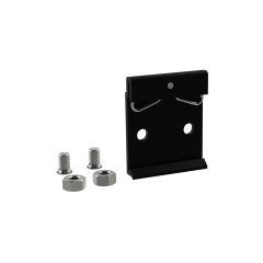 E-Case D - DIN Rail Clip Kit - Black