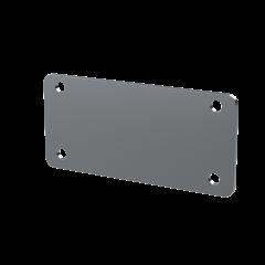 E-Case A - End Plate - Silver