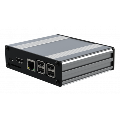 Pi-Box Pro - POE - Silver