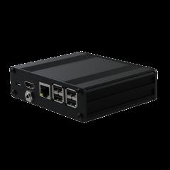 Pi-Box Pro - AV - Black - No SD Card Access