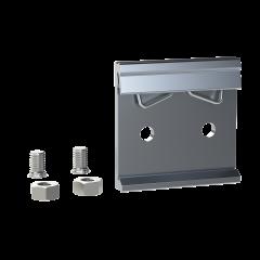 E-Case D - DIN Rail Clip Kit - Silver